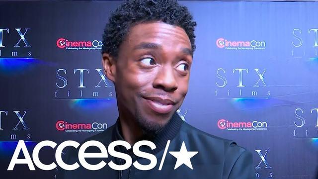 画像: Chadwick Boseman Expertly Swerves Any 'Avengers: Endgame' Talk: 'I'm Dead!' | Access www.youtube.com