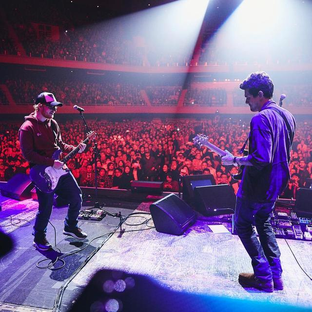 """画像1: John Mayer  on Instagram: """"Tokyo, night one: the great Ed Sheeran aka @teddysphotos joined us for a couple of songs and made an already special night unforgettable. I…"""" www.instagram.com"""