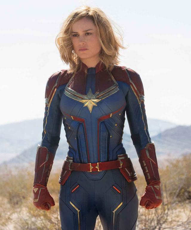 画像: 映画『キャプテン・マーベル』ではメイクが薄くなり、よりナチュラルなルックスに変化。