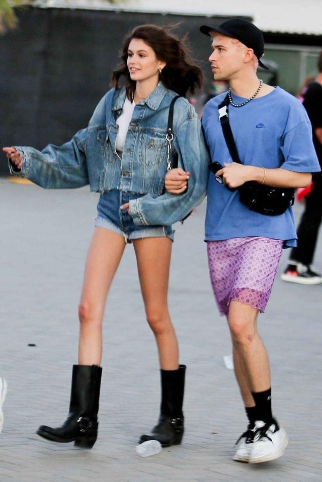 画像: 人気モデルのカイア・ガーバー
