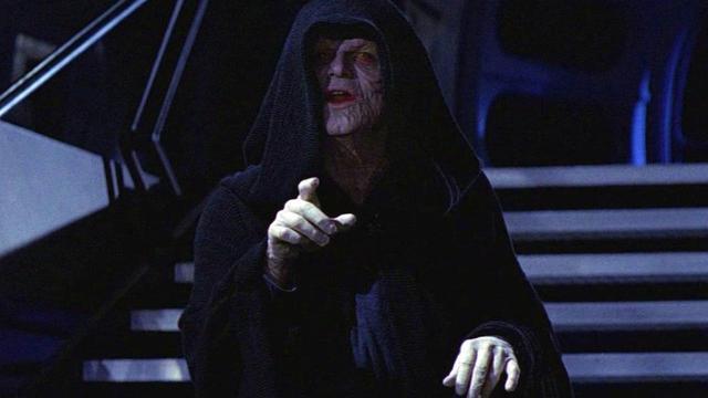 画像: シスの暗黒卿ダース・シディアスことパルパティーン。