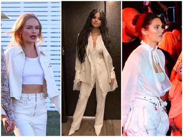 画像: コーチェラフェス・ファッション、セレーナ、ケンダルら人気セレブはホワイトコーデ! - フロントロウ