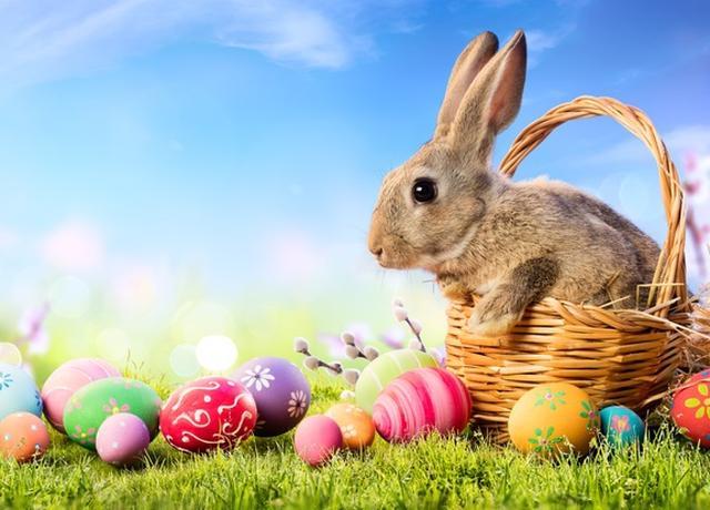 画像1: たまごとウサギがかわいすぎる!海外の「イースター・ネイル」デザイン集♡