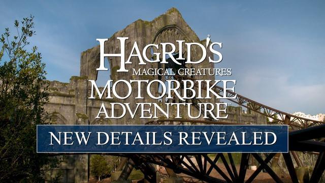 画像: New Details Revealed for Hagrid's Magical Creatures Motorbike Adventure www.youtube.com