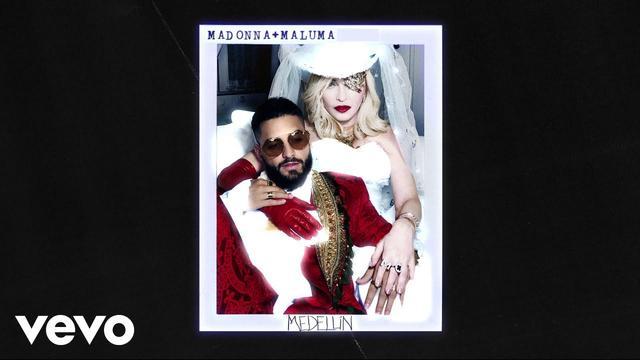 画像: Madonna, Maluma - Medellín (Audio) www.youtube.com