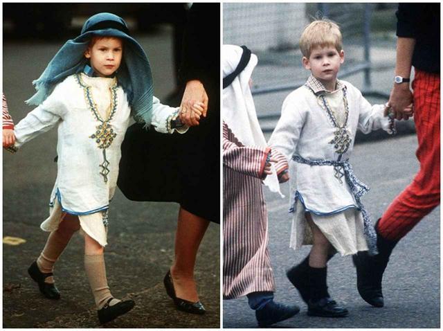 画像3: ヘンリー王子、子供のころの演劇会での姿が可愛すぎる