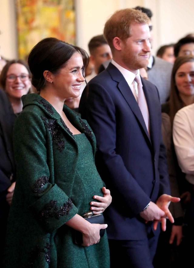 画像: メーガン妃出産まであと少し