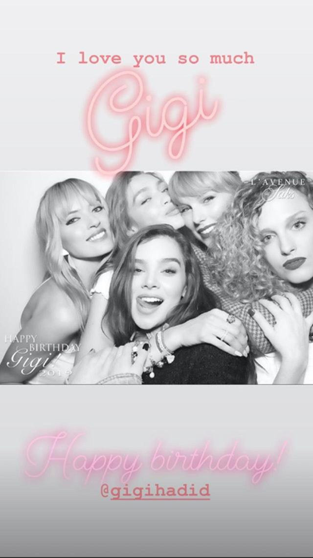 画像: Taylor Swift/Instagram