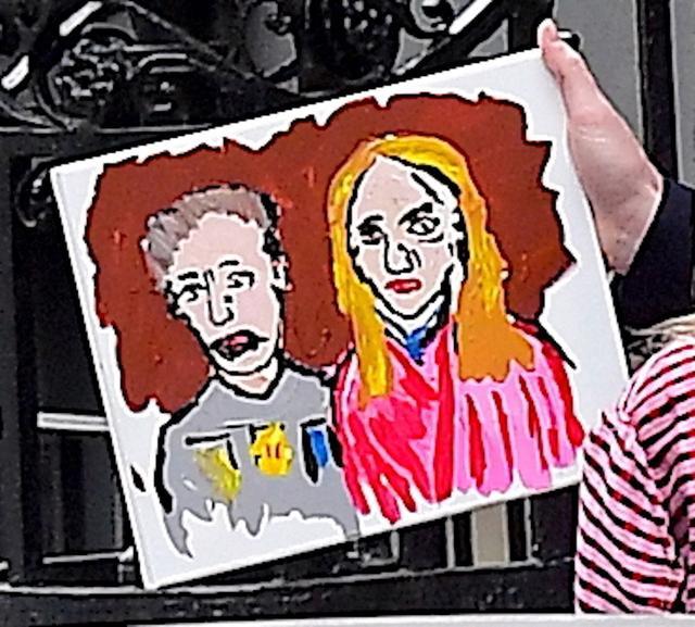 画像3: 有名画家に恋人との肖像画を描いてもらった「オスカー女優」は誰でしょう?
