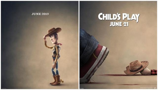 画像: Instagram/Toy Story 4、Child's Play