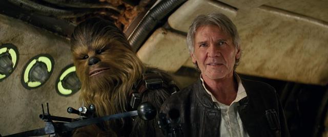画像: 映画『スター・ウォーズ/フォースの覚醒』で再共演を果たしたピーター(左)とハリソン(右)。