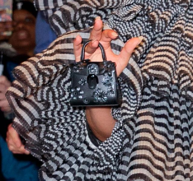 画像2: レディー・ガガ、メットガラ前夜祭に「何も入らないバッグ」を持参