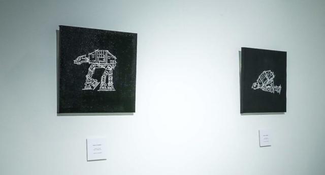 画像5: スターウォーズを題材に人間の欲望を表現した展覧会が銀座で開催
