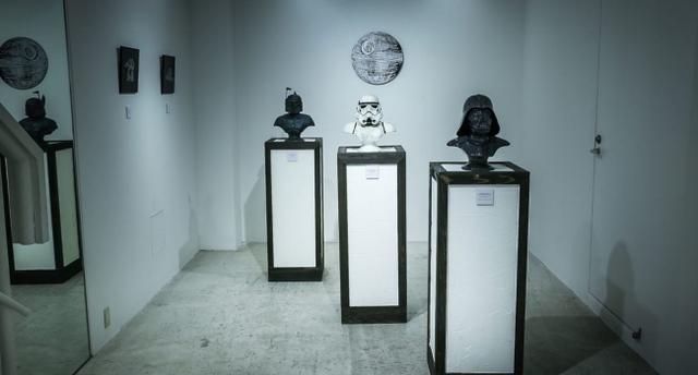 画像2: スターウォーズを題材に人間の欲望を表現した展覧会が銀座で開催