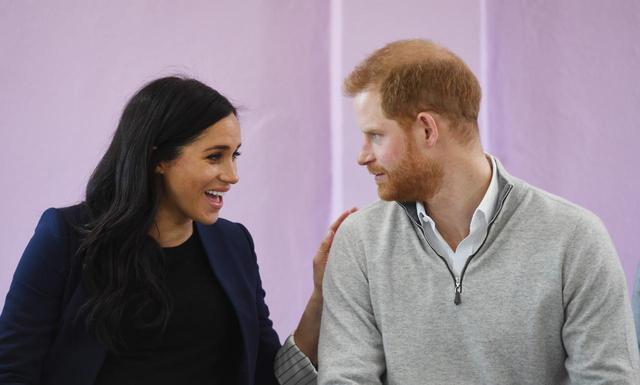 画像: メーガン妃とヘンリー王子。