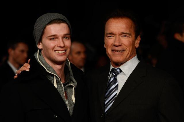 画像: パトリックと父アーノルド