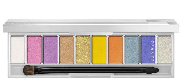画像1: ルナソルから、自在にカラーを楽しめる10色パレットが限定発売!