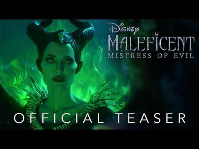 画像: Official Teaser: Disney's Maleficent: Mistress of Evil - In Theaters October 18! www.youtube.com
