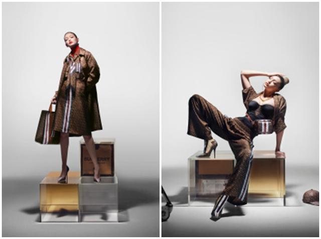 画像2: バーバリーがブランド初のモノグラムコレクションを発表、セレブもコメント