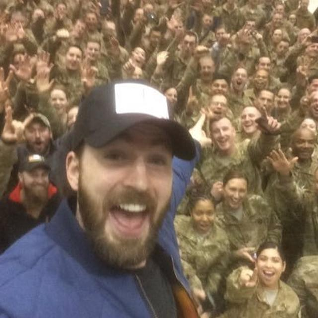 画像: Chris Evans on Twitter twitter.com