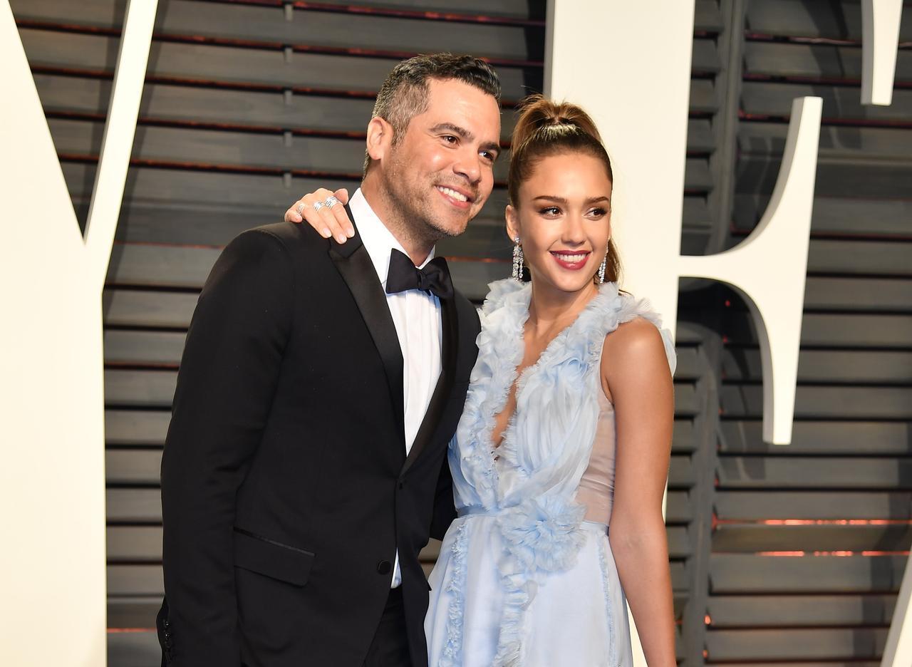 画像: ジェシカと夫キャッシュ・ウォーレン。