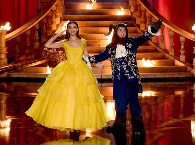 画像: エマ・ワトソンも興奮!MTV授賞式で本格『美女と野獣』パロディ