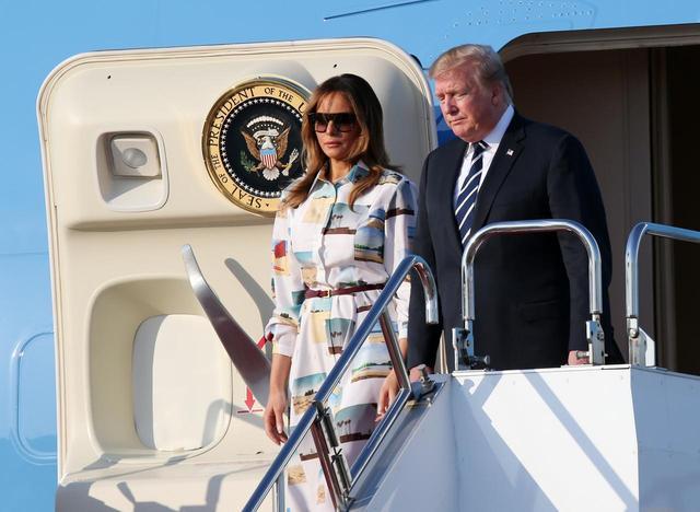 画像1: アメリカ大統領夫妻が来日