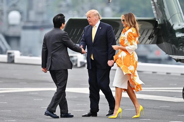 画像2: アメリカ大統領夫妻が来日