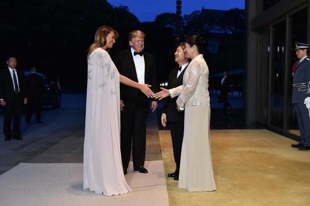画像3: アメリカ大統領夫妻が来日