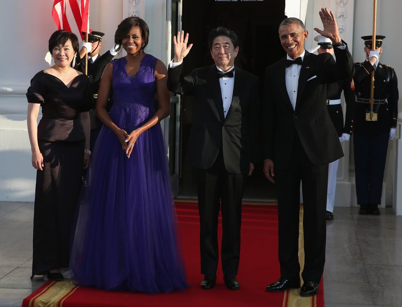 画像4: アメリカ大統領夫妻が来日