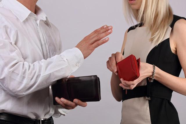"""画像1: """"デートの会計は誰が支払いますか?"""""""