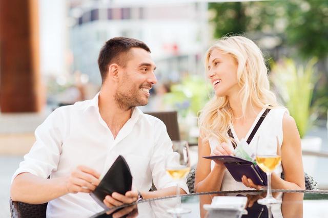 """画像2: """"デートの会計は誰が支払いますか?"""""""