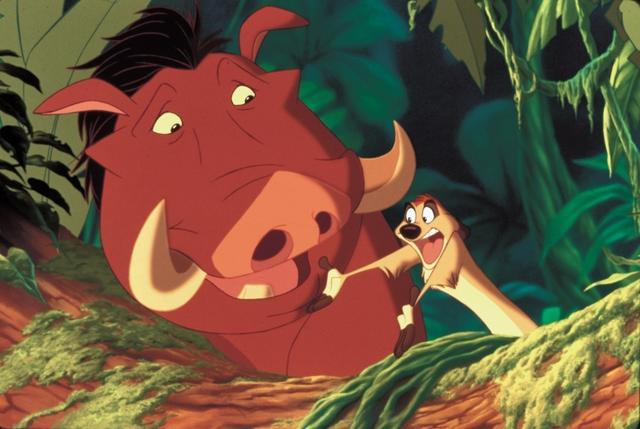 画像: アニメ版でのプンバァ。ティモシーとの絶妙な掛け合いが作品の名物に。