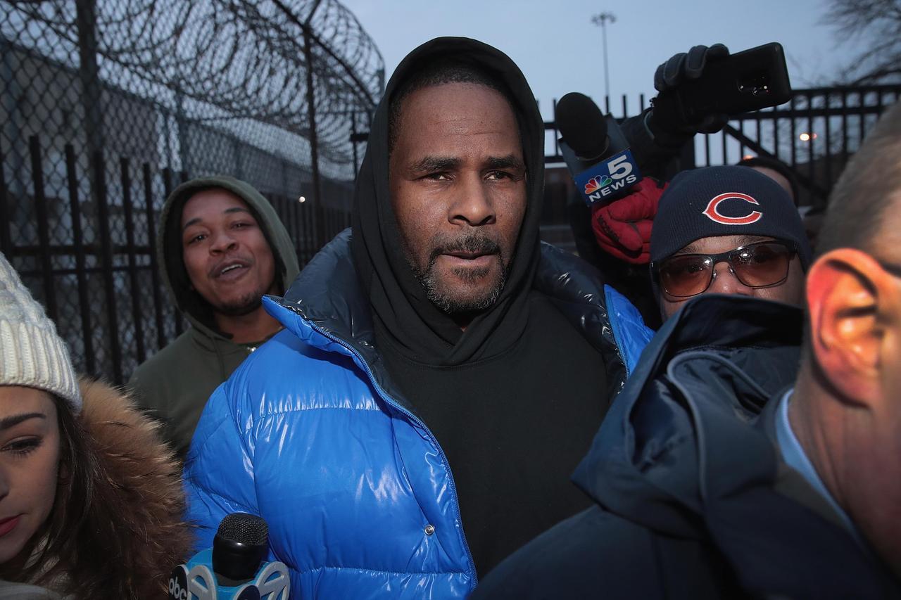 画像: 2月に釈放された時のケリー。