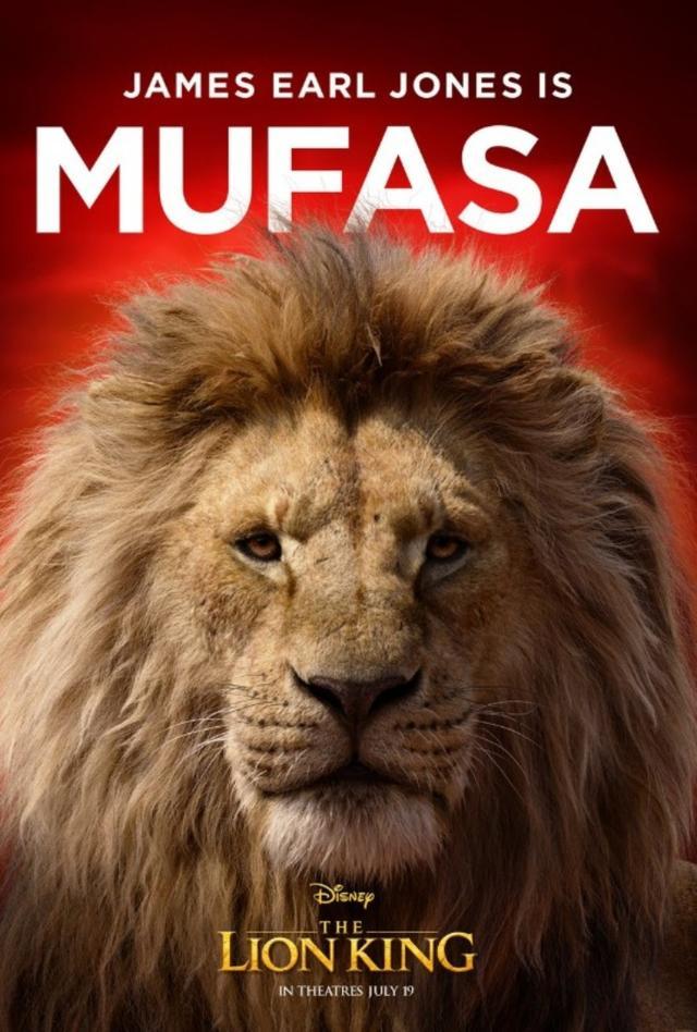 画像: ジェームズ・アール・ジョーンズが声を担当するシンバの父ムファサ。©Disney Lion King/ Twitter