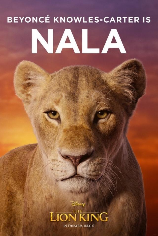 画像: ビヨンセが声を担当するヒロインのナラ。©Disney Lion King/ Twitter