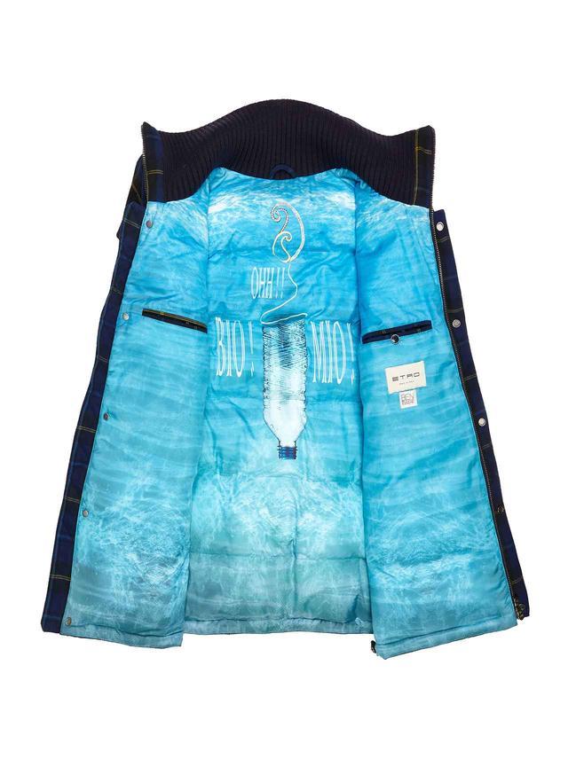 画像2: エトロ、世界海洋デーに120本のリサイクルペットボトルで作った100%エコジャケット