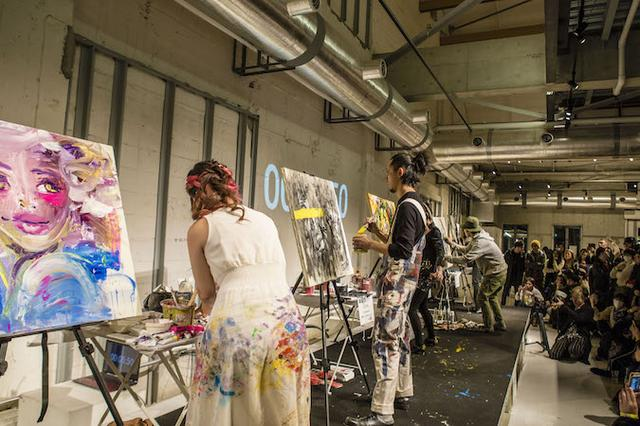 画像2: NY発祥のライブアートイベント「アート バトル ジャパン」に『ティックトック』のサポートが決定