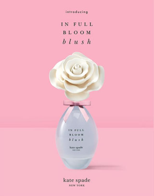 画像: ケイト・スペード ニューヨークより、フレグランスの新作「インフルブルーム ブラッシュ」が発売
