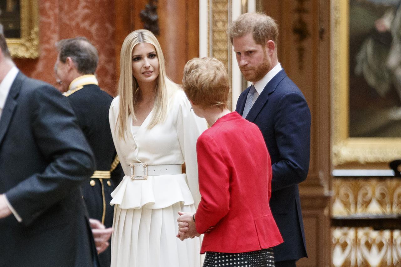 画像: 英国王室のヘンリー王子とも面会したイヴァンカ・トランプ