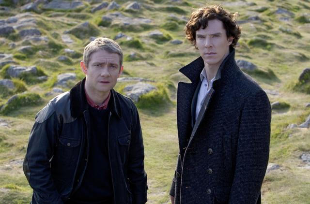 画像: ベネディクト・カンバーバッチ(右)が名探偵シャーロック・ホームズ役を演じマーティン・フリーマンが助手のワトソン役を演じた英BBCの大ヒット作『SHERLOCK(シャーロック)』