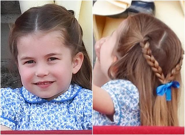 画像2: シャーロット王女、王室行事の真っ最中にひそかに「イメチェン」していた