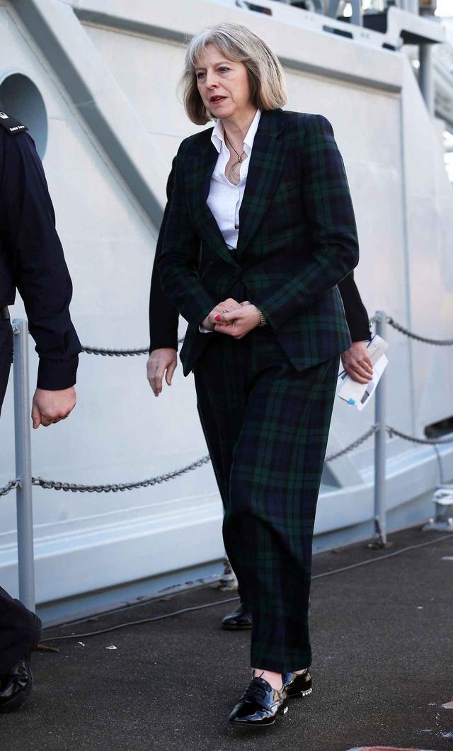画像1: イギリスのメイ元首相