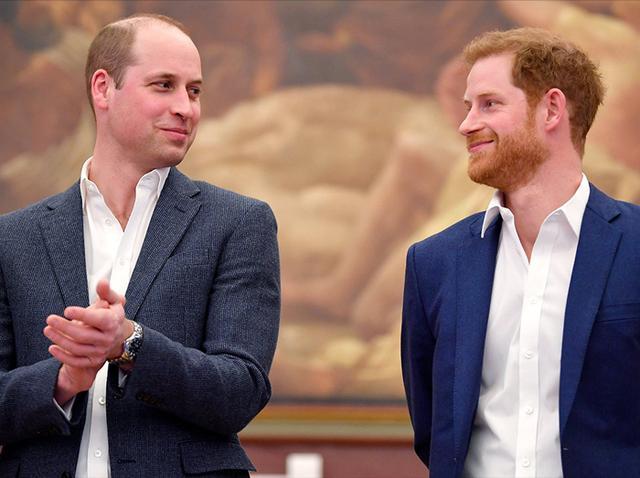 ウィリアム王子&ヘンリー王子、兄弟間の確執を火消した2人の