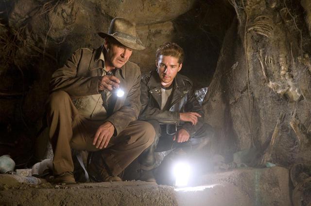 画像: 2008年公開の映画『インディ・ジョーンズ/クリスタル・スカルの王国』より。