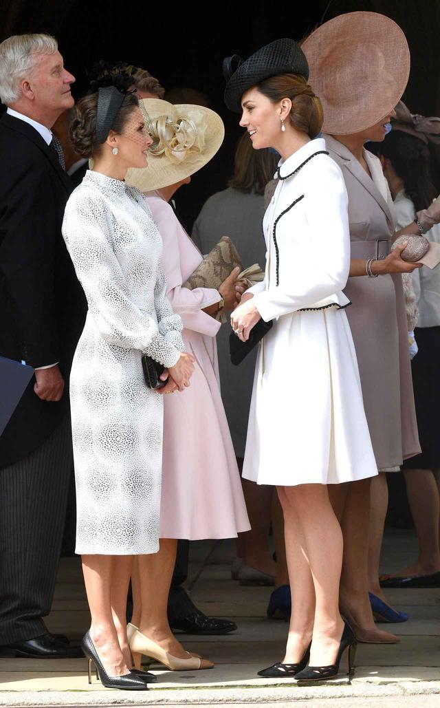 画像1: キャサリン妃とレティシア王妃の共演