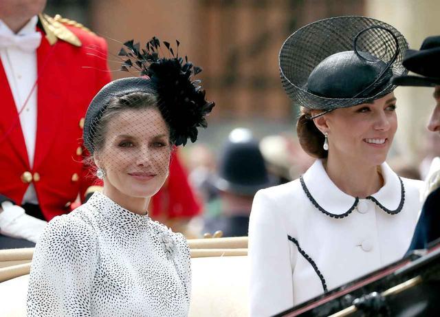 画像2: キャサリン妃とレティシア王妃の共演