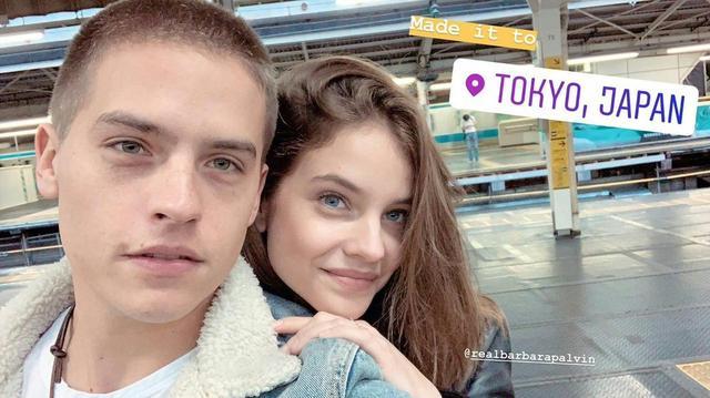 画像: ディランのインスタグラムのストーリーにアップされた東京に到着したことを報告する写真。 ©Dylan Sprouse/Instagram