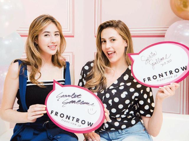 画像: 【来日取材】シルベスター・スタローン家の美人姉妹、サマンサベガのバッグやファッションについて語る♡ - フロントロウ