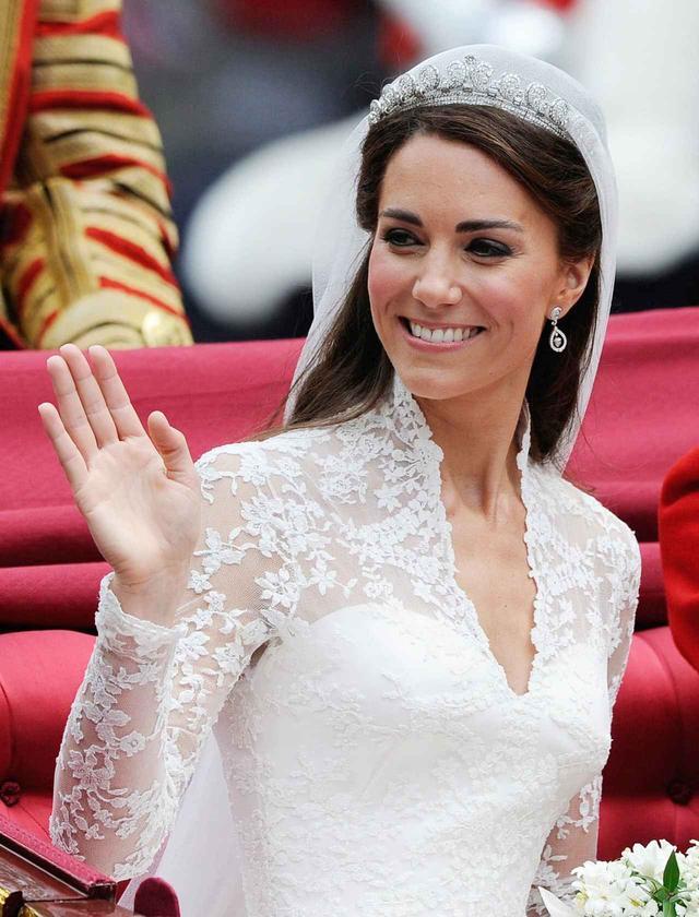 画像1: キャサリン妃の花嫁メイク